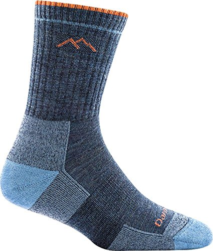 Darn Tough Hiker Micro Crew Cushion Sock - Women's Denim Medium