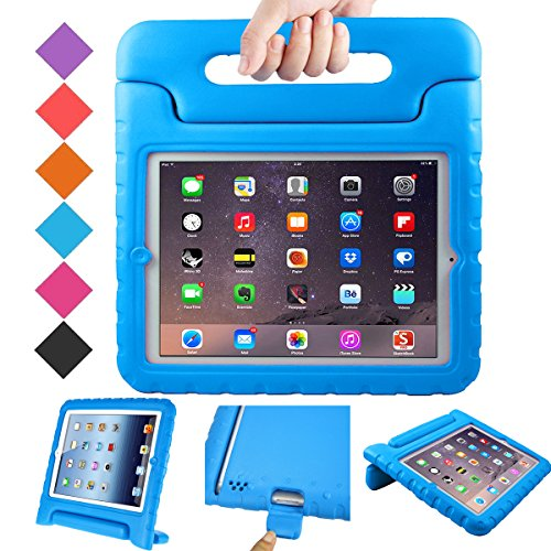 BMOUO Kids Case for iPad 2 3 4 - Shockproof Light Weight Convertible Handle Stand Case Cover for Apple iPad 9.7 Inch (iPad 2nd 3rd 4th Generation) - Blue