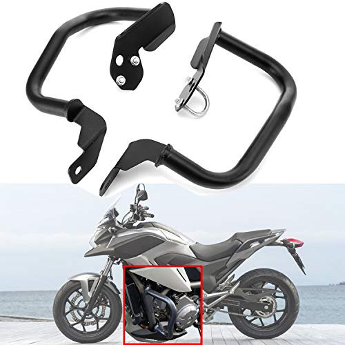 MotorFansClub Crash Bars Engine Guards Fit For Compatible With Honda NC700X NC700S NC750X 2014 2015 2016 2017 Highway Protect Bumpers