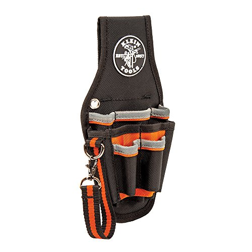 Klein Tools 5240 Tradesman Pro Maintenance Tool Pouch with Tape Thong and 2-Inch Tunnel Loop