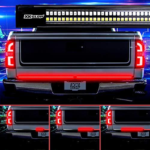 XKGLOW 2nd Gen 60' Truck Tailgate Light w/Chasing Turn Signal, Brake, Running and Reverse Light