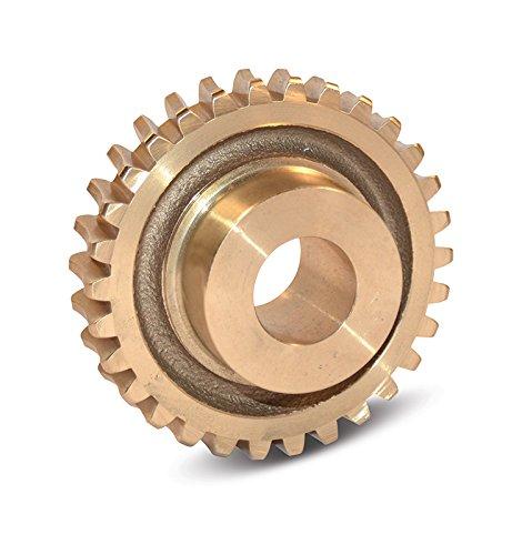 Boston Gear GB1050A Worm Gear, Plain, 14.5 PA Pressure Angle, 0.500' Bore, 20:1 Ratio, 20 TEETH, RH
