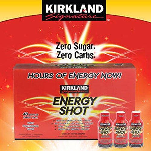 Kirkland Signature Energy Shot 48 Count, 2 Ounces Each