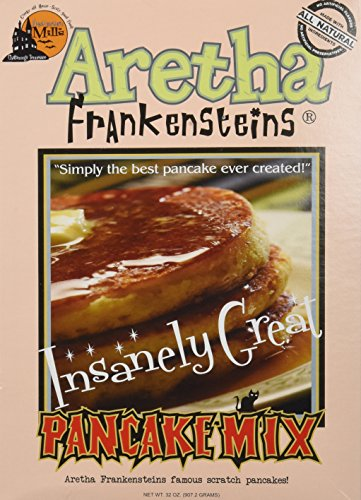 Aretha Frankenstein's Insanely Great Pancake Mix - 32 Oz Box