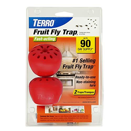 TERRO T2502 Fruit Fly Trap  2 traps