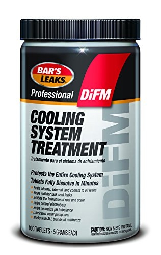 Bar's Leaks J-100 Professional DiFM Cooling System Treatment, 5-Gram Tablets