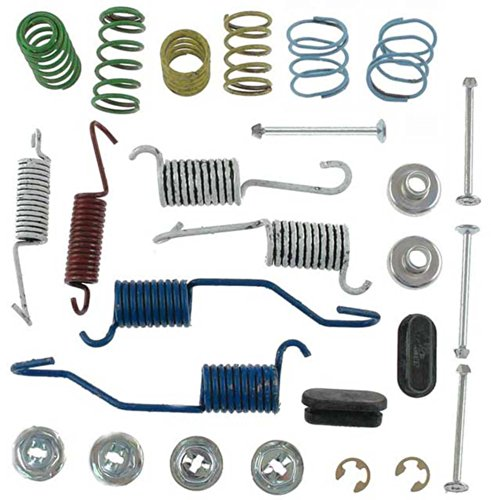 ACDelco 18K564 Professional Rear Drum Brake Spring Kit with Springs, Pins, Retainers, Washers, and Caps