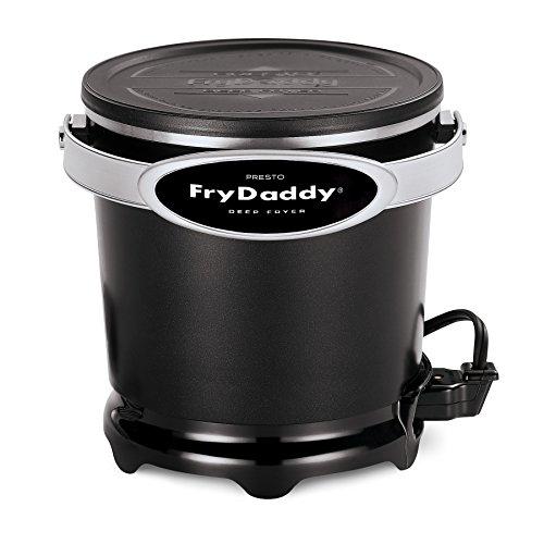 Presto 05420 FryDaddy Electric Deep Fryer,Black