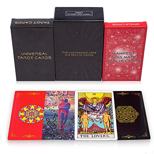 MandAlimited Tarot Cards Deck and Manifest - Soul Mate Oracle Cards