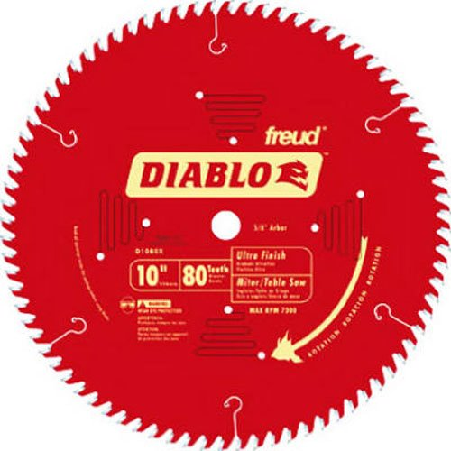 Diablo D1080X ATB Fine Finish Saw Blade