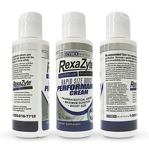 RexaZyte Rapid Size Boost Performance Cream