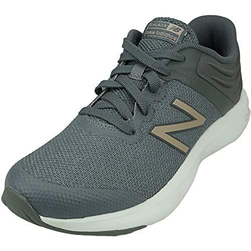 New Balance Women's Ralaxa V1 Walking Shoe, Lead/Champagne Metallic/Gunmetal, 10 M US