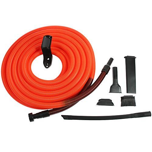 Centec Systems 93565 Shop Vacuum Garage Kit, 50 Ft. Hose, Orange/Black