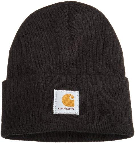 Carhartt Men's Acrylic Watch Hat A18, Black, One Size