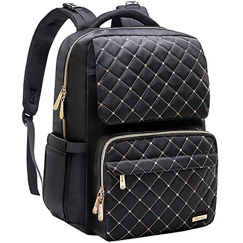 Diaper Bag Backpack, Bamomby Multi-Function Waterproof Large Travel Backpack Nappy Bags with Changing Pad, Newborn Diapers Registry Baby Shower Gifts-Black
