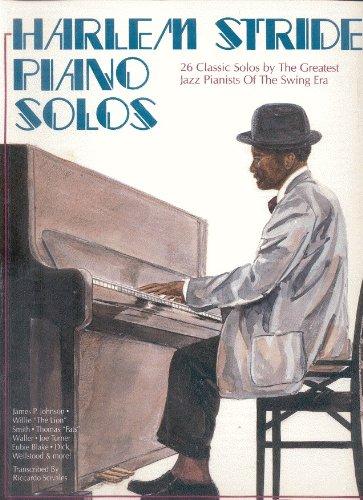 Harlem Stride Piano Solos (PFO693)