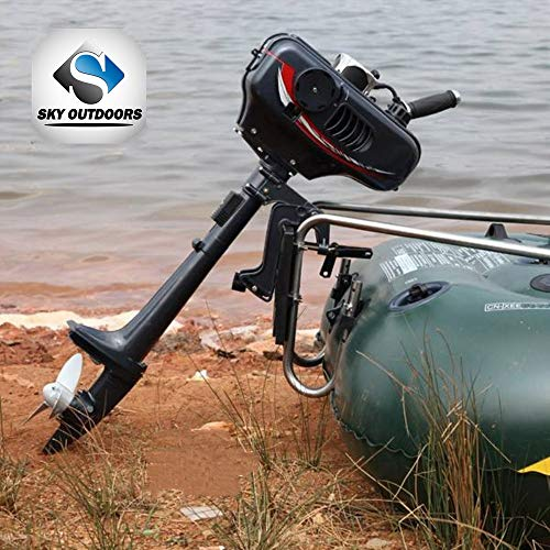 Superior Engine Water Cooling System Outboard Motor Two-strok Inflatable Fishing Boat (2 Stroke-3.5P)
