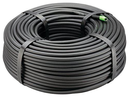Rain Bird T22-250S Drip Irrigation 1/4' Blank Distribution Tubing, 250'Roll, Black