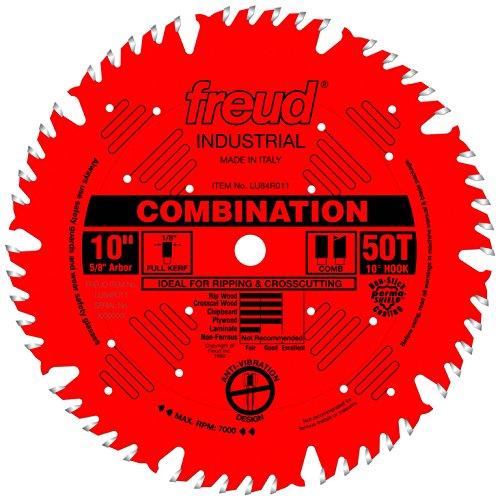 Freud 10' x 50T Combination Blade (LU84R011)