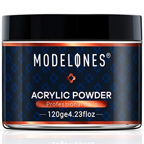 Modelones Clear Nail Acrylic Powder Professional Nail Art Powder 4.23 OZ