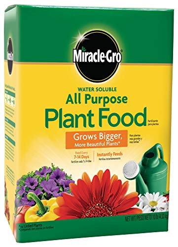 Miracle-Gro Water Soluble All Purpose Plant Food, 10 Lb