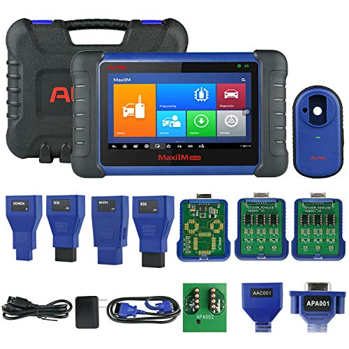 Autel MaxiIM IM508 Automotive Key Programming Scan Tool with XP200 Key Programmer, Car Diagnostic Scanner with OE-Level All System Diagnosis Oil Reset, EPB, SAS, BMS, DPF Services (for US Only)