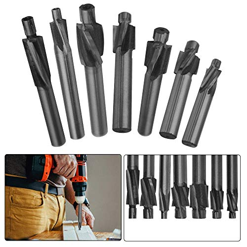 M10.3 Pilot Counterbore End Mill Cutters Mould Solid Slot Drill Bit Slotting Tool, Pack of 1