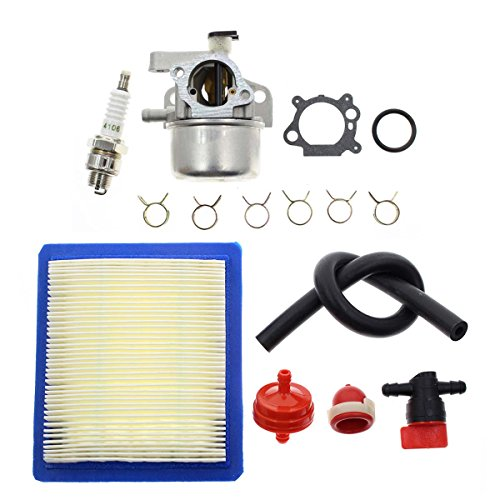 Carbhub Carburetor for Briggs & Stratton 799866 790845 799871 796707 794304 12H800 Engine Toro Craftsman Lawn Mower Carb Toro 22' Recycler with Air Filter Spark Plug Primer Bulb