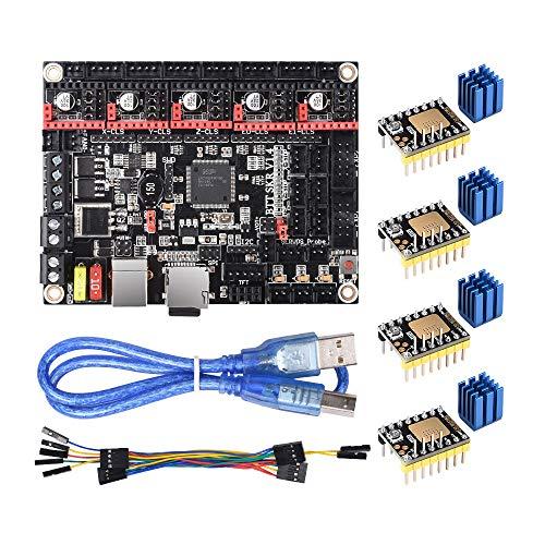 BIGTREETECH 3D Printer Part SKR V1.4 Turbo 32bit Control Board Smoothieboard&Marlin Open Source SKR V1.4 SKR V1.3 Upgrade Support TMC2209/TMC2208/TMC2130 Drivers (SKR V1.4 Turbo with TMC2130 SPI)