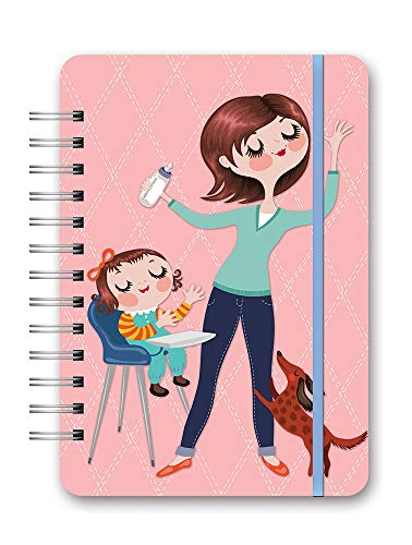 Do It All Weekly Spiral Planner 2020-2021 in Mom Do It All by Orange Circle Studio - 6' x 8' 17-Month Flex Cover - Week-Per-Spread View with Tear-Off to-Do Lists - Organize Tasks & More