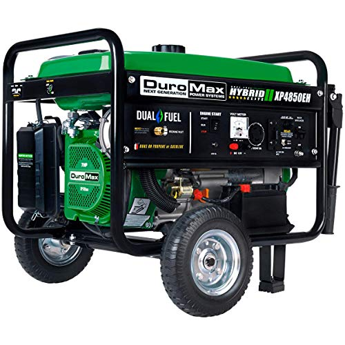 DuroMax XP4850EH 4850 watt Dual Fuel Hybrid generator with Electric Start