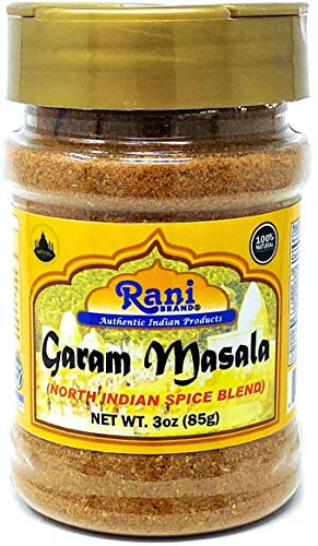 Rani Garam Masala Indian 11 Spice Blend 3oz (85g) Salt Free ~ All Natural | Vegan | Gluten Friendly | NON-GMO | No Colors | Indian Origin
