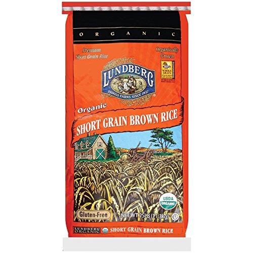 100% Organic Short Grain Brown Rice