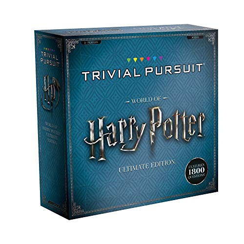USAOPOLY Trivial Pursuit World of Harry Potter Ultimate Edition   Trivia Board Game Based On Harry Potter Films   Officially Licensed Harry Potter Game