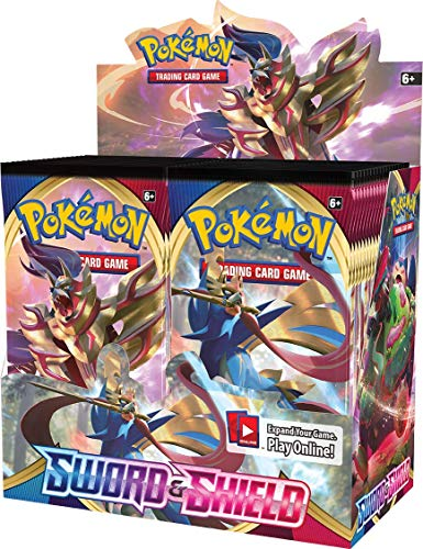 Pokémon TCG: Sword & Shield Booster Box, Multicolor, Model:172-81651