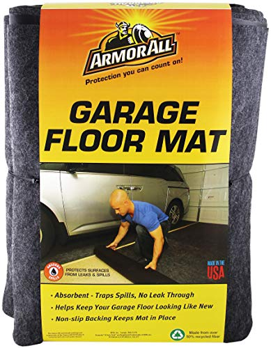 Armor All AAGFMC17 Charcoal 17' x 7'4 Garage Floor Mat