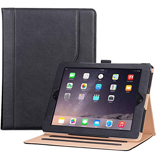 ProCase iPad 2 3 4 Case (Old Model) - Stand Folio Cover Case for Apple iPad 2/iPad 3/iPad 4 –Black