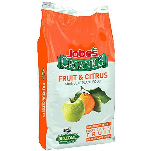 Jobes Organics 09224 Fruit & Citrus Fertilizer, 16lb, Brown