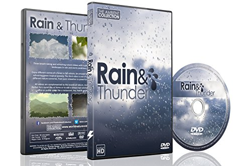 NATURE DVD - RAIN and THUNDER with Nature and Thunder Sounds for Relaxation