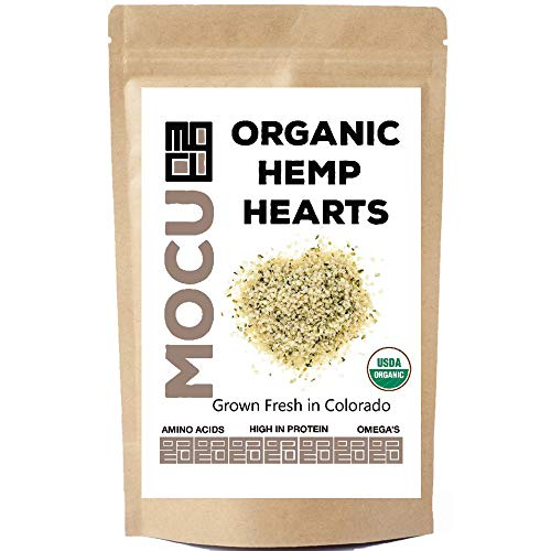 USA Grown Organic Hemp Hearts (Hulled Hemp Seeds) | 3 LB Bag | Cold Stored to Preserve Nutrition | Raw, Non GMO, Vegan, Gluten Free |
