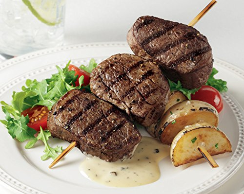 Tenderloin Filet Mignon Medallions, 16 count, 2 oz each from Kansas City Steaks