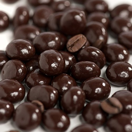 Dark Chocolate Covered Espresso Coffee Beans 2 Lb, 32 oz in Resealable Bag By FirstChoiceCandy