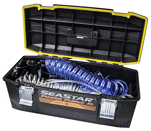 SeaStar HA5445-2 Power Purge Jr., Portable Hydraulic Steering Fill and Purging System