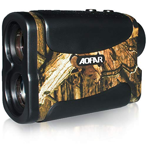 AOFAR HX-700N Hunting Range Finder 700 Yards Waterproof Archery Rangefinder for Bow Hunting with Range Scan Fog and Speed Mode, Free Battery, Carrying Case
