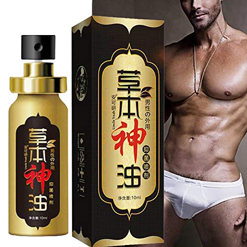 Men Sex Delay Spray,SUNSENT Men Penis Enlarge Essence Oil,Men Penis Growth Oil, Increase Enlarge Oil Delay Time