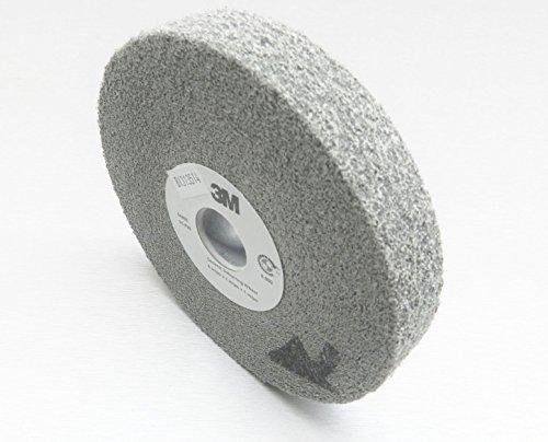 3M 64900 General Deburring Wheel - Max RPM: 6000, 6X1X1', Grade: 9S FIN
