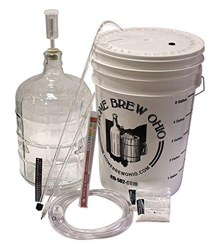 Winemakers Depot 3 Gallon Glass Wine Making Equipment Kit