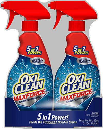 Oxiclean Maxforce Spray Twin Pack (2 Count of 16 Fl Oz Bottles), 32 Fl Oz