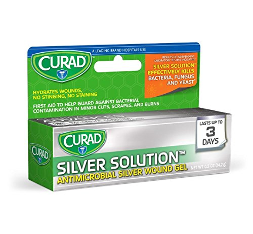 Curad Germ Shield Antimicrobial Gel 0.50 oz (Pack of 3)