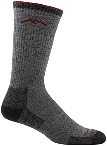 Darn Tough Boot Cushion Sock - Men's Charcoal Large